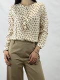Camicia manica lunga Matilde - fantasia fiore - 1