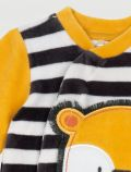Tutina in ciniglia Chicco - grigio giallo - 1
