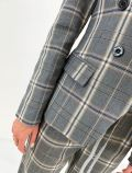 Giacca Artigli - grigio panna - 3