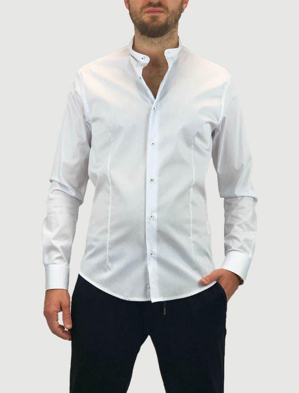 Camicia manica lunga Identikit - bianco