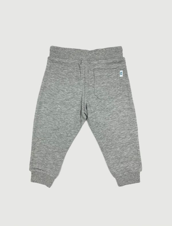 Pantalone in felpa Melby - grigio melange