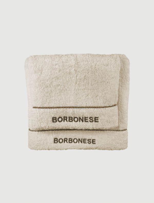 Completo asciugamani Borbonese - avorio