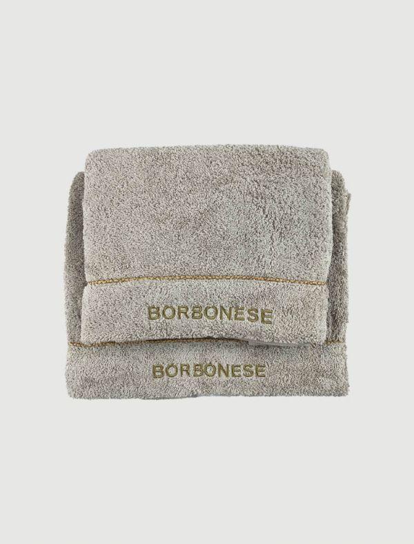 Completo asciugamani - nocciola