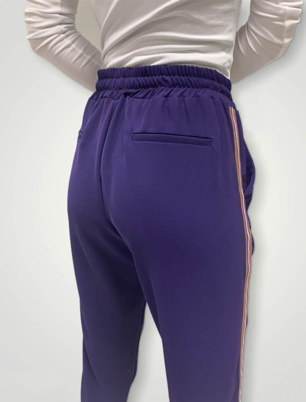 Pantalone Sanbabila - viola