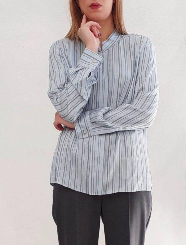 Camicia manica lunga Black Pennyblack - azzurro