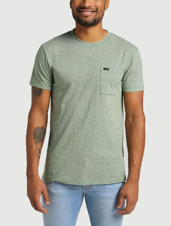 T-shirt manica corta Lee - verde