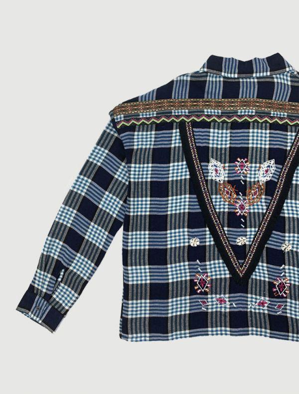 Camicia manica lunga Only - blue