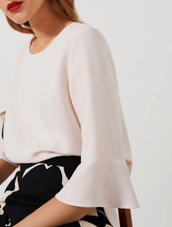 Camicia manica lunga Emme - panna