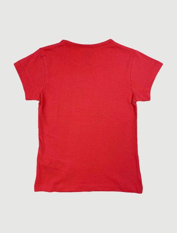 T-shirt manica corta Losan - rosso