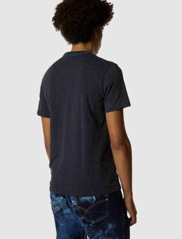 T-shirt manica corta Gas - navy