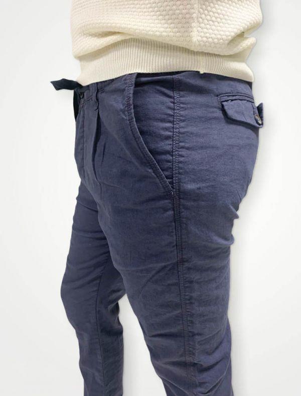 Pantalone casual B-style - blu