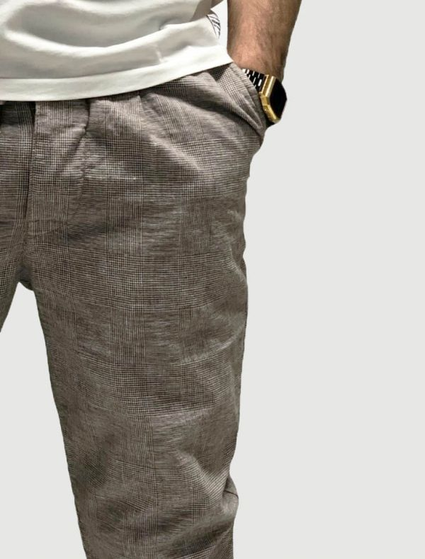 Pantalone casual B-style - beige