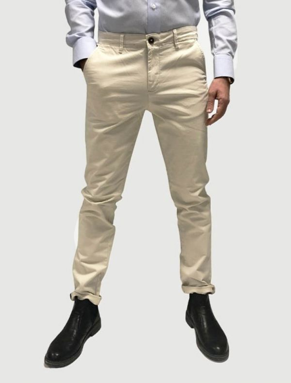 Pantalone casual Jack & Jones - silver