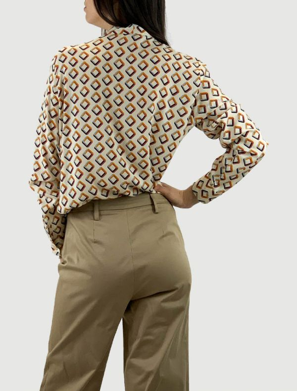 Camicia manica lunga Matilde - avorio