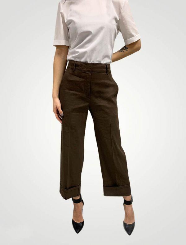 Pantalone Seventy - marrone