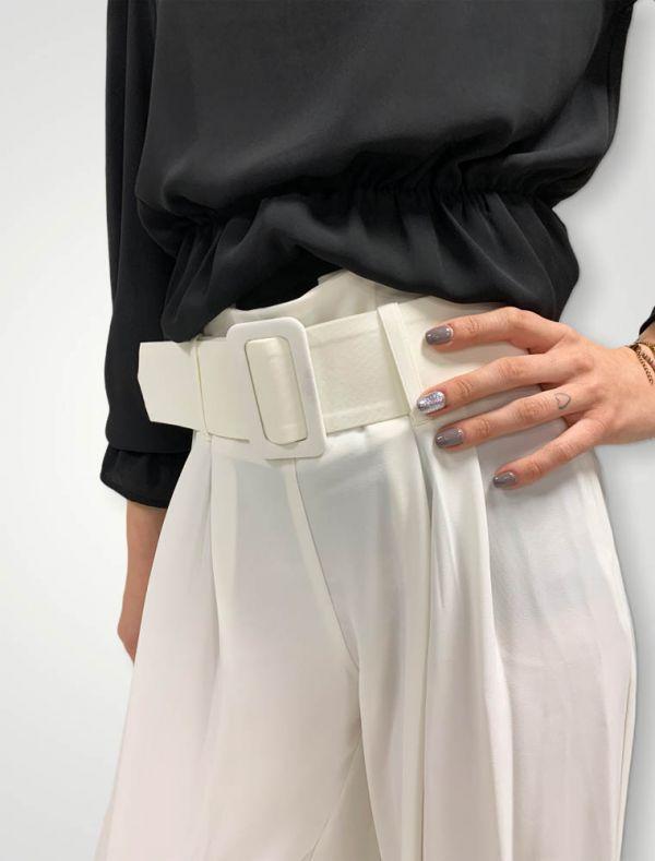 Pantalone Yes Zee - bianco