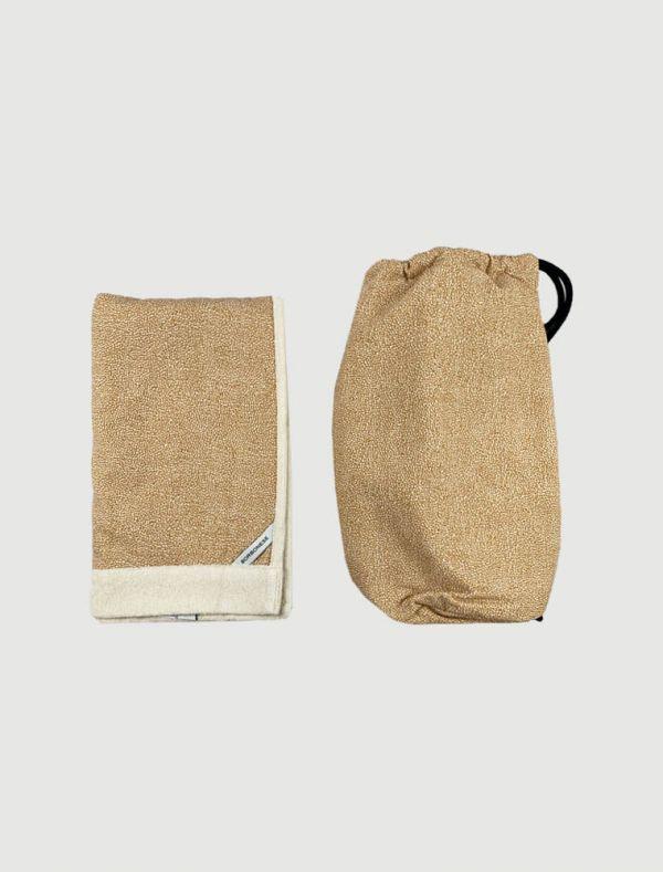 Asciugamano grande Borbonese - cammello