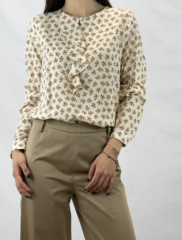 Camicia manica lunga Matilde - fantasia fiore