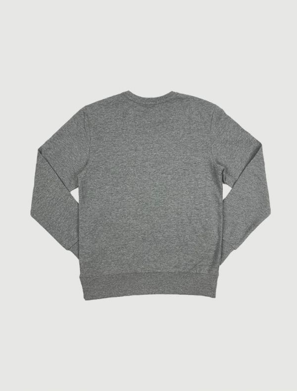 Maglia in felpa I Do - grigio