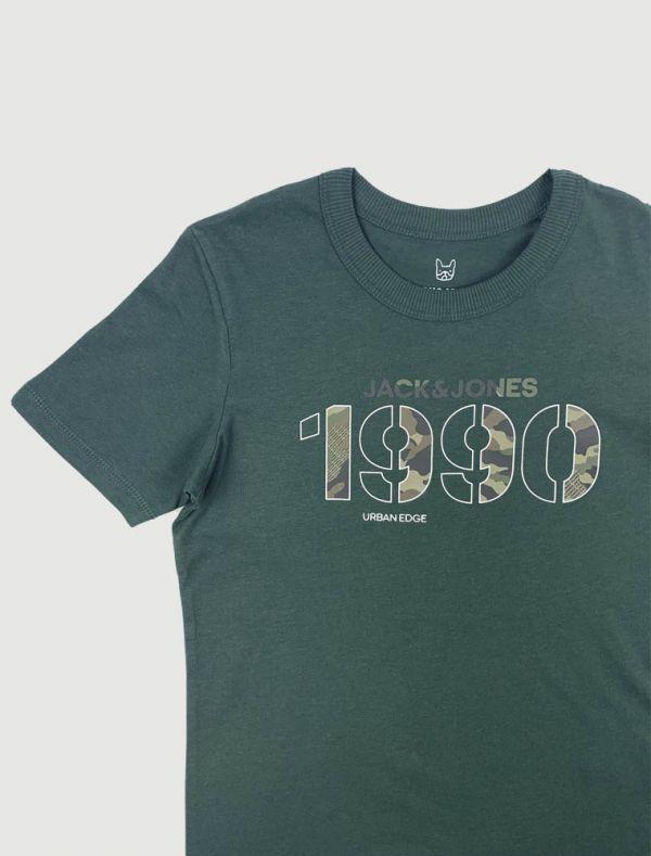 T-shirt manica corta Jack & Jones - verde oliva