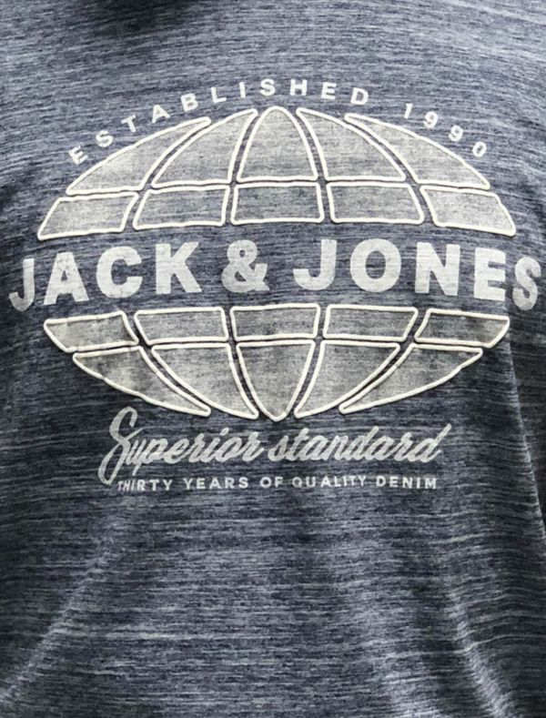 T-shirt manica corta Jack & Jones - navy