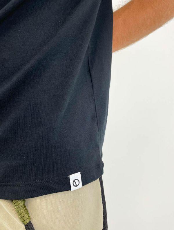 T-shirt manica corta Over-d - nero