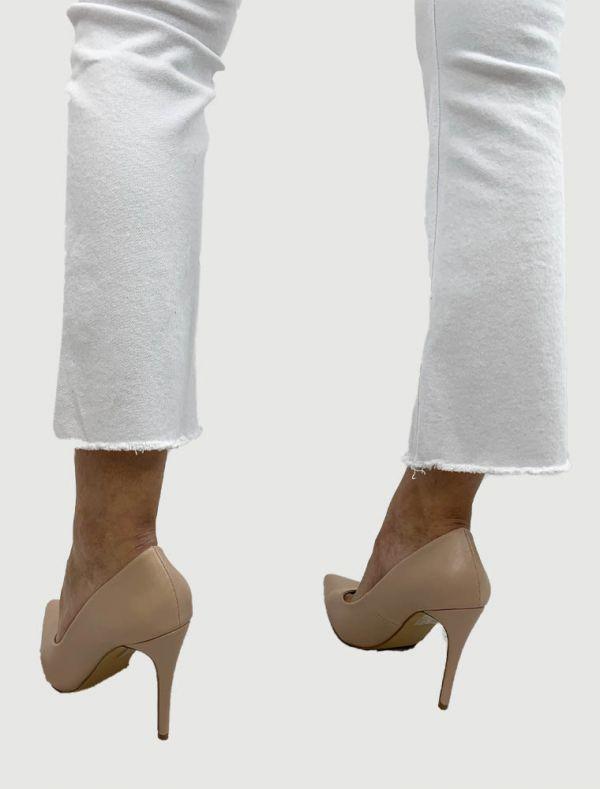 Pantalone jeans - bianco