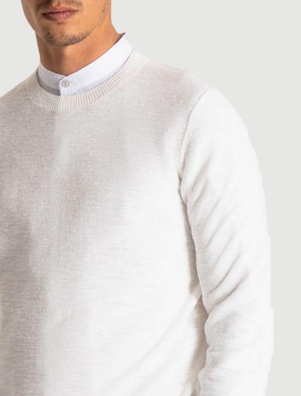 Maglia manica lunga Antony Morato - crema