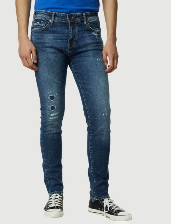 Pantalone jeans Gas - blu medio