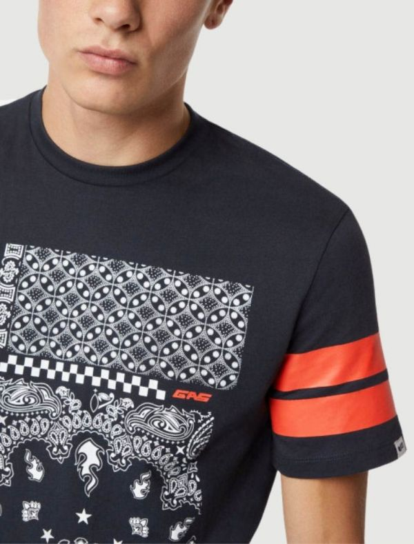 T-shirt manica corta - navy