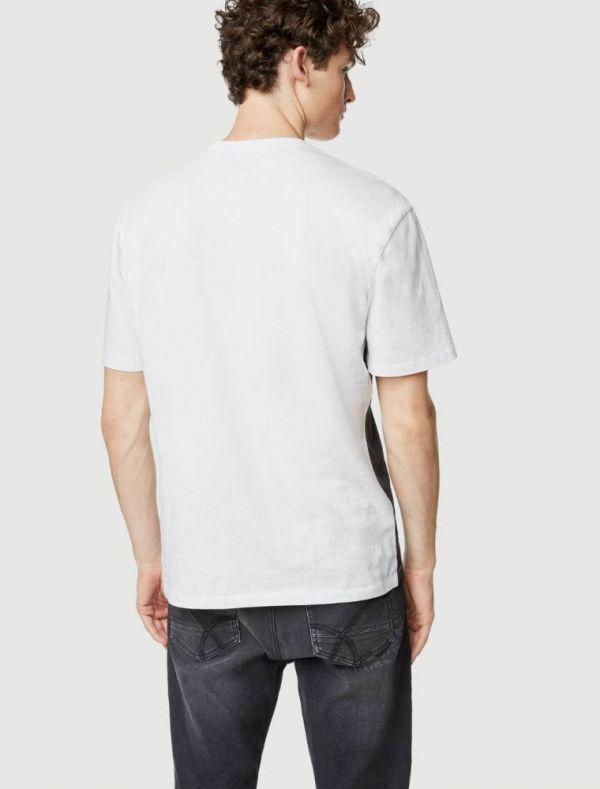 T-shirt manica corta Gas - white