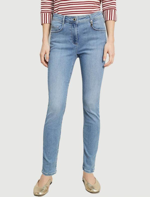 Pantalone jeans Grey Pennyblack - blu denim