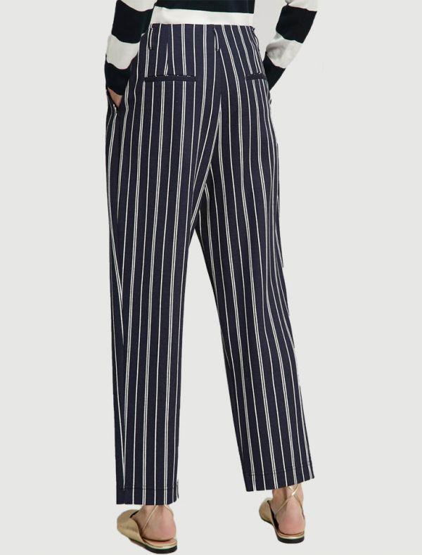 Pantalone Grey Pennyblack - white
