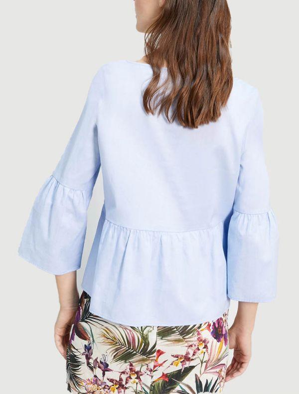 Camicia manica lunga - azzurro