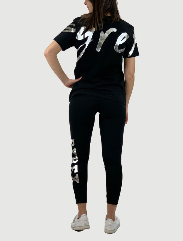 T-shirt manica corta Pyrex - nero