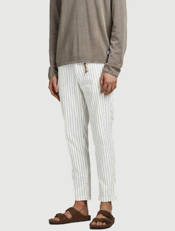 Pantalone casual Jack & Jones - ecru