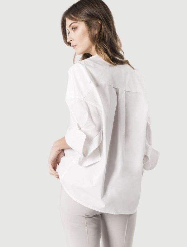 Camicia manica lunga Sandro Ferrone - bianco