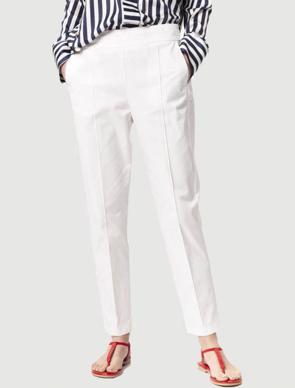 Pantalone Sandro Ferrone - bianco
