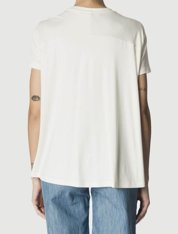 T-shirt manica corta Sandro Ferrone - bianco