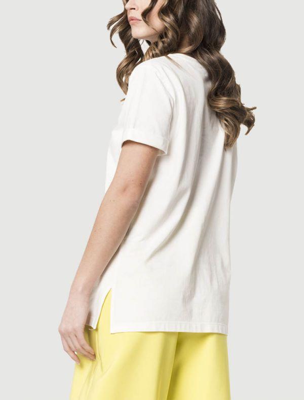 T-shirt manica corta Sandro Ferrone - seta