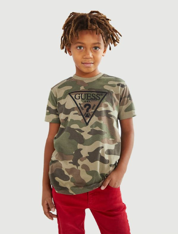 T-shirt manica corta Guess - camouflage