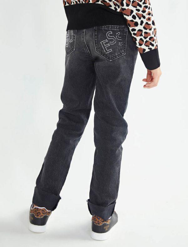 Pantalone jeans Guess - black denim