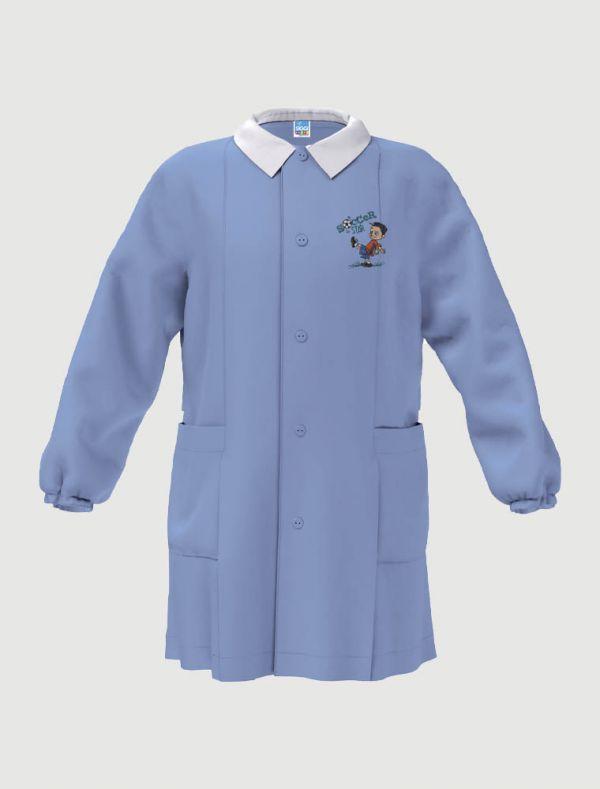 Grembiule asilo Siggi - azzurro - 0