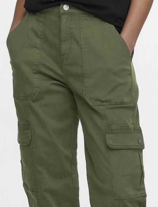 Pantalone casual Only - forest night