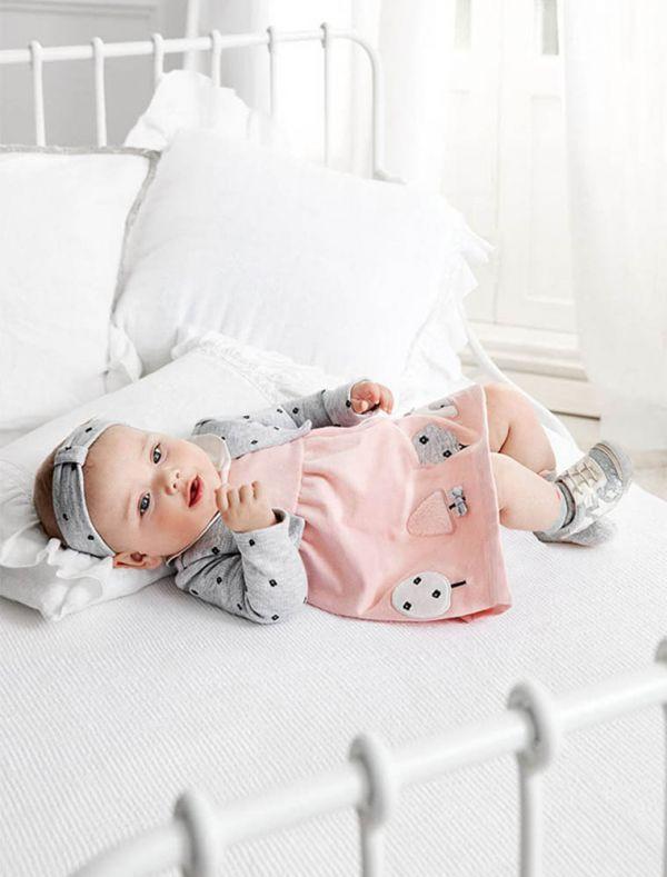 Abito Newborn - grigio