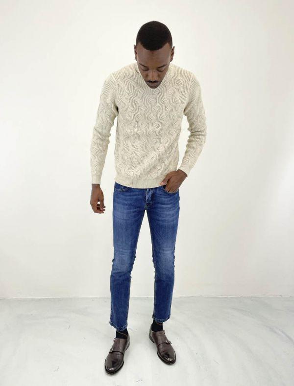 Pantalone jeans Manuel Ritz - blu